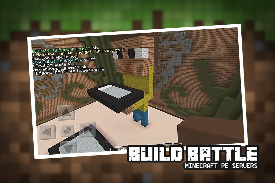 Build Battle Servers for Minecraft PE for Android - APK Download