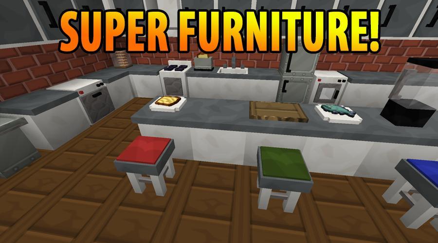установить мод на мебель майнкрафт 15 6 на андроид #8