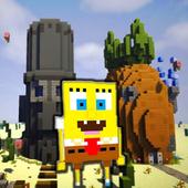 Mod Bikini Bottom Sponge For MCPE icon
