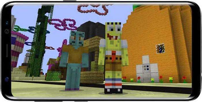 Mod Bikini Bottom Sponge For MCPE screenshot 2