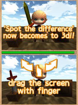 Spot the difference 3D screenshot 5