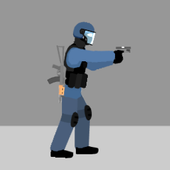 Flat Zombies: Defense & Cleanup icon