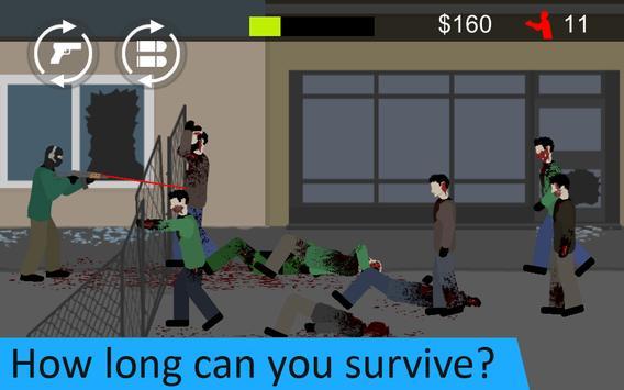 Flat Zombies: Defense & Cleanup screenshot 4