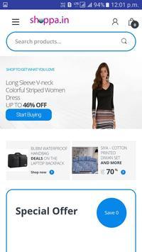 Shoppa.in Online Shopping App screenshot 2