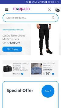 Shoppa.in Online Shopping App screenshot 3