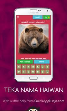 Teka Nama Haiwan (Edisi Malaysia) screenshot 3