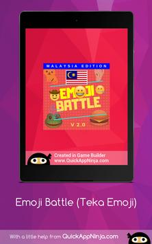 Emoji Battle (Edisi Bahasa Malaysia) screenshot 17