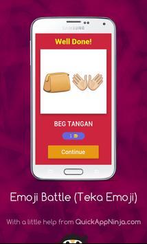 Emoji Battle (Edisi Bahasa Malaysia) screenshot 1
