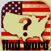 find words - US states icon
