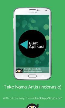 Teka Nama Artis (Indonesia) screenshot 4