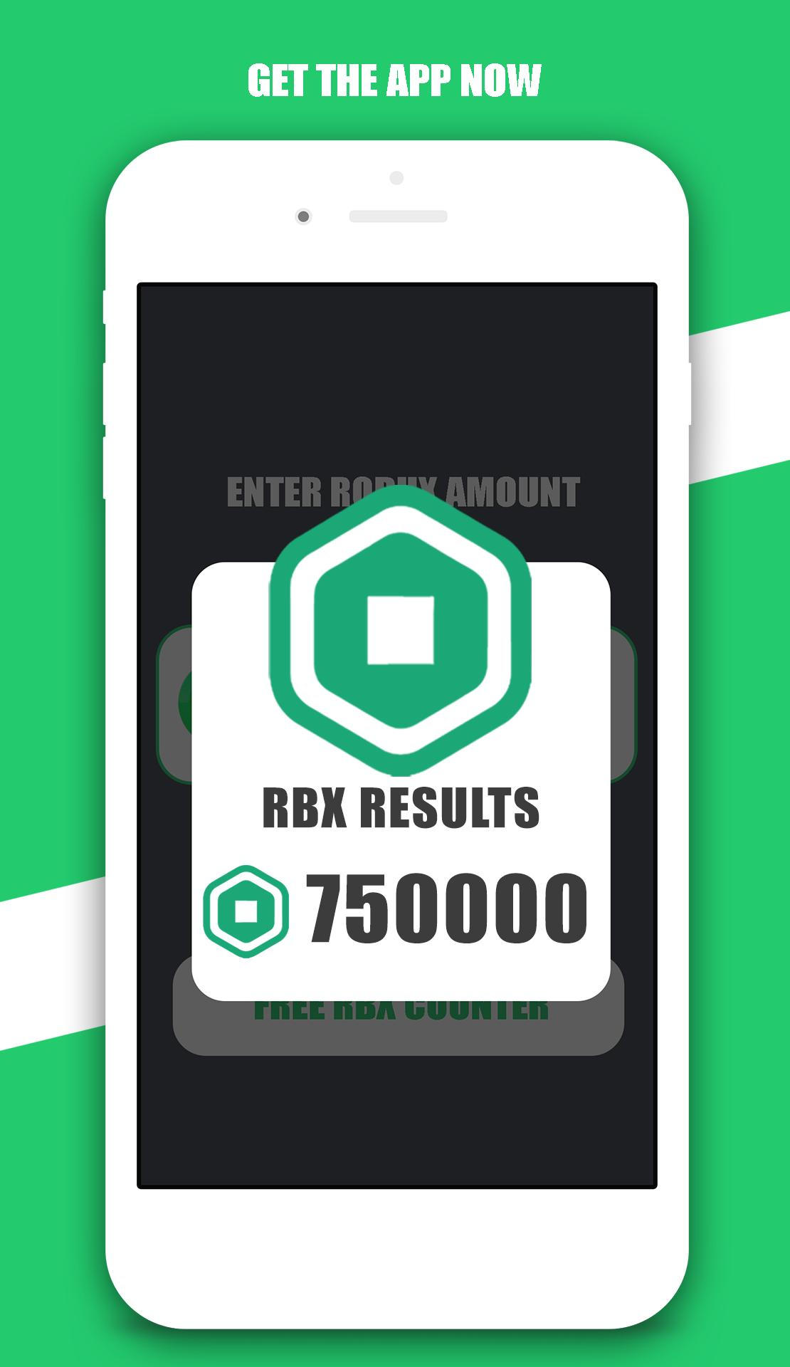 Free Robux Counter For Android Apk Download