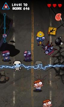 Pukulan keras Zombie poster