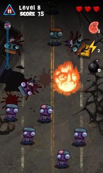 Pukulan keras Zombie screenshot 1