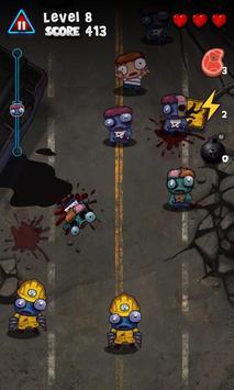 Pukulan keras Zombie screenshot 3
