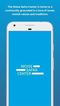 Moise Safra Center poster