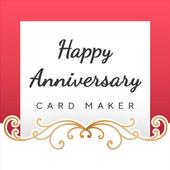 Happy Anniversary Card Maker icon