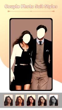 Couple Photo Suit Styles Editor screenshot 1