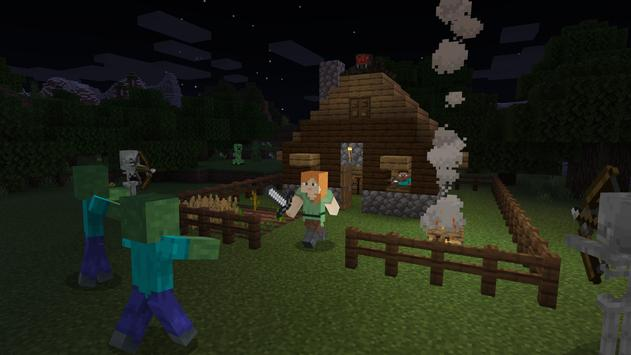 Minecraft-Demoversion Screenshot 2