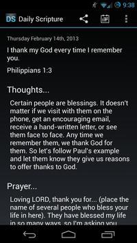 Daily Scripture постер
