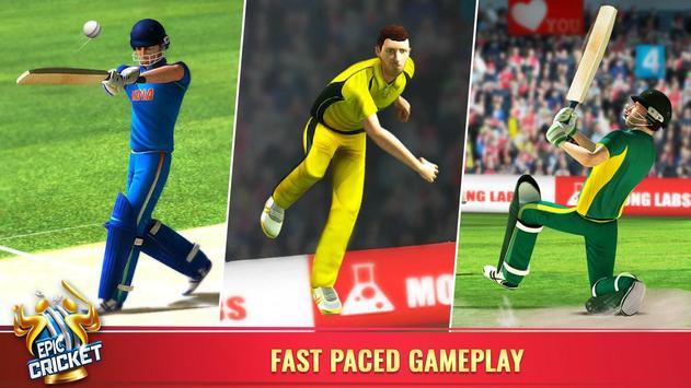 Epic Cricket स्क्रीनशॉट 3