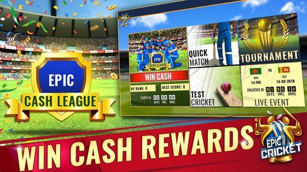 Epic Cricket स्क्रीनशॉट 14