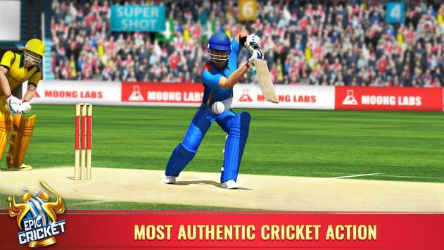 Epic Cricket स्क्रीनशॉट 1