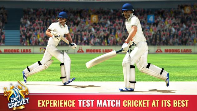 Epic Cricket स्क्रीनशॉट 9