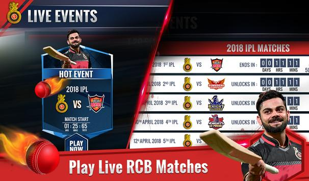 RCB Epic Cricket स्क्रीनशॉट 4
