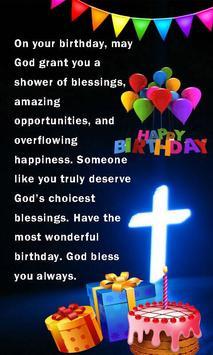 Happy Birthday Religious Greeting eCards poster