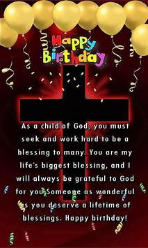 Happy Birthday Religious Greeting eCards screenshot 1