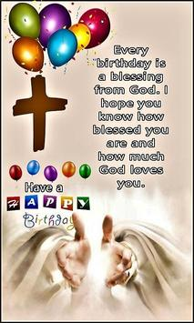 Happy Birthday Religious Greeting eCards screenshot 7