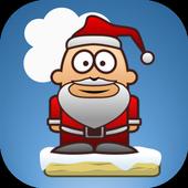 Jumping Santa icon