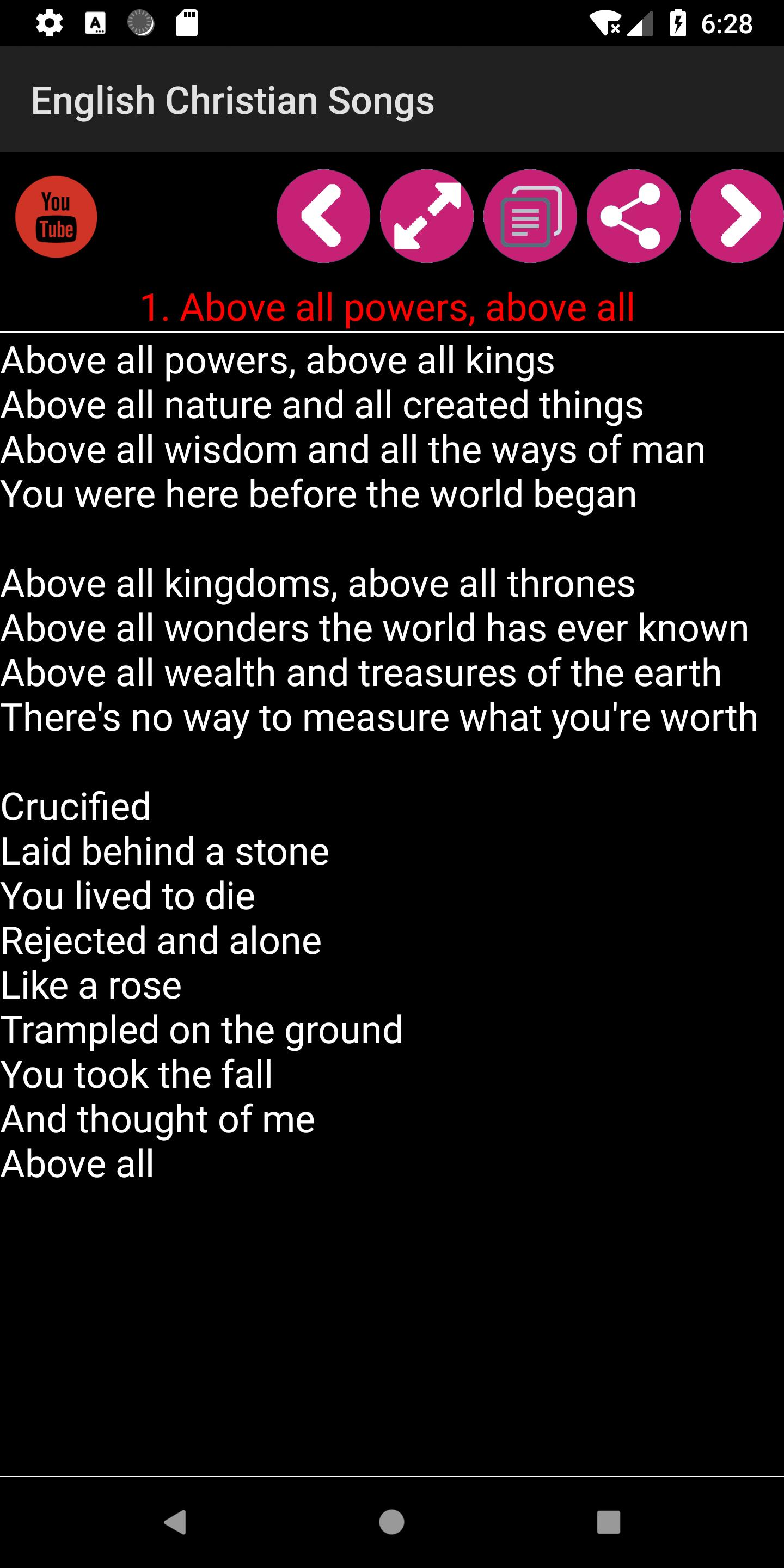 English Christian Song Book for Android - APK Download