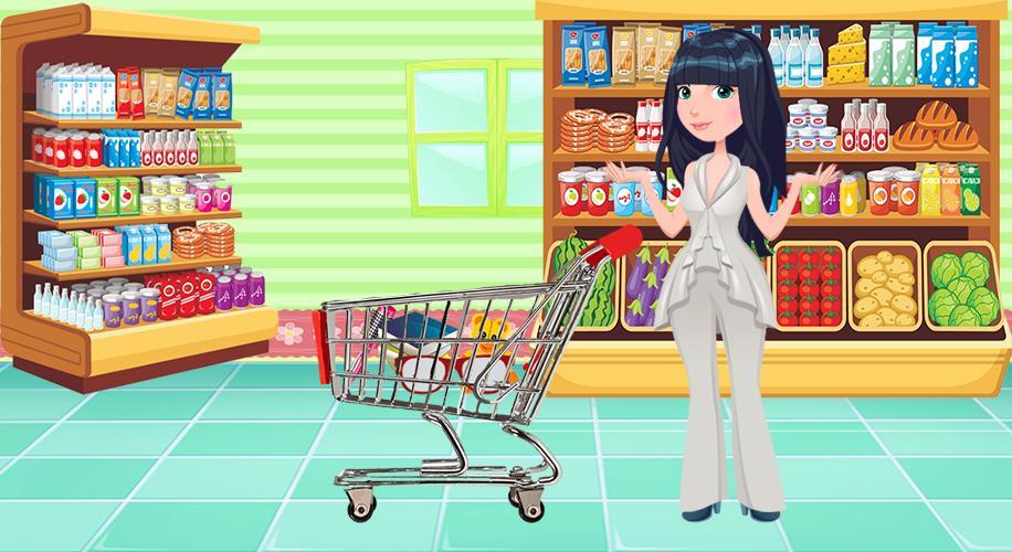 فتاة سوبر ماركت محل بقالة للتسوق For Android Apk Download