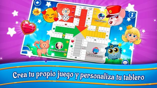 Loco Parchís - Mega chat LIVE! Ludo dados & Slots captura de pantalla 9