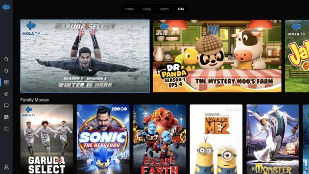Mola TV for Polytron Device screenshot 3