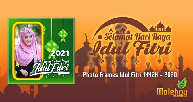 Bingkai Foto Idul Fitri 2021 poster