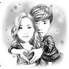 Moments Cartoon Caricature - selfie network cam 圖標