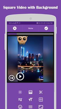 Video Editor: Square Video & Photo Slideshow Plakat