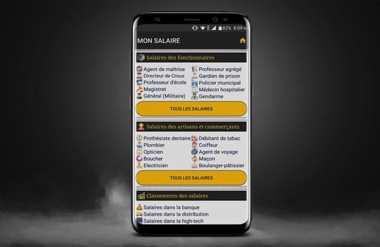 MON SALAIRE screenshot 2