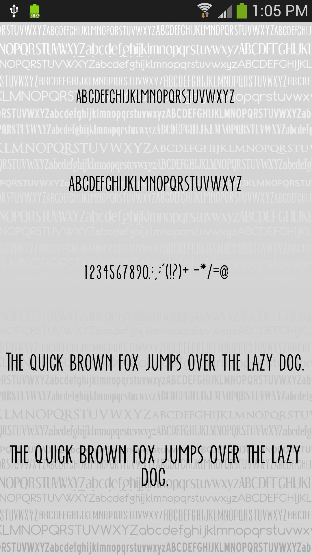 Fonts Clean for FlipFont® Free for Android - APK Download