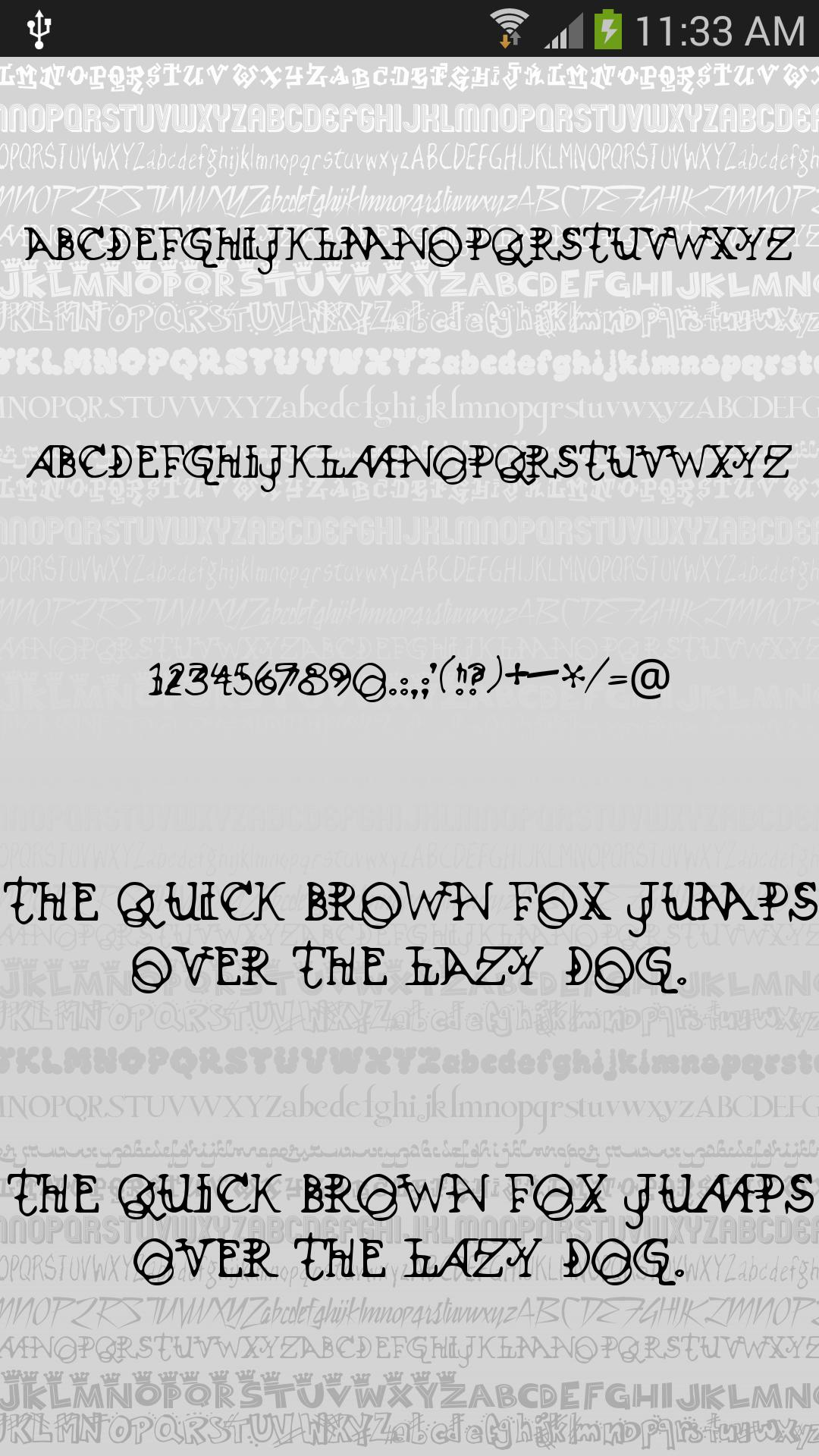 Fonts Style for FlipFont® Free for Android - APK Download