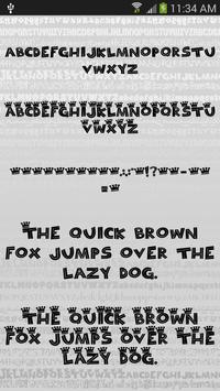 Fonts Style for FlipFont® Free screenshot 2