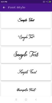 Font Style screenshot 3