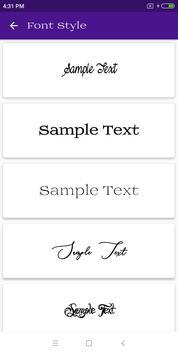 Font Style screenshot 4