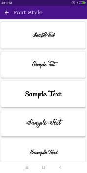 Font Style screenshot 5