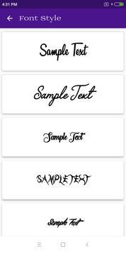 Font Style screenshot 6