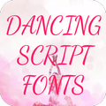 Dancing Script Font for FlipFont , Cool Fonts Text