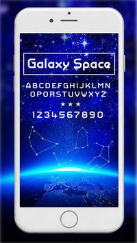 Galaxy Space poster