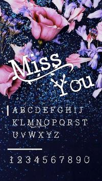 Miss You Font for FlipFont , Cool Fonts Text Free screenshot 2
